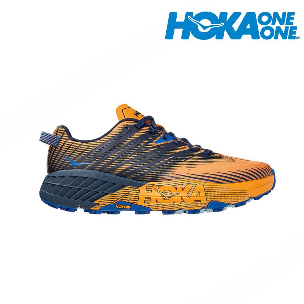 HOKA  SPEEDGOAT 4 男越野鞋 登山鞋 1106525SBIS 贈腿套 21SS