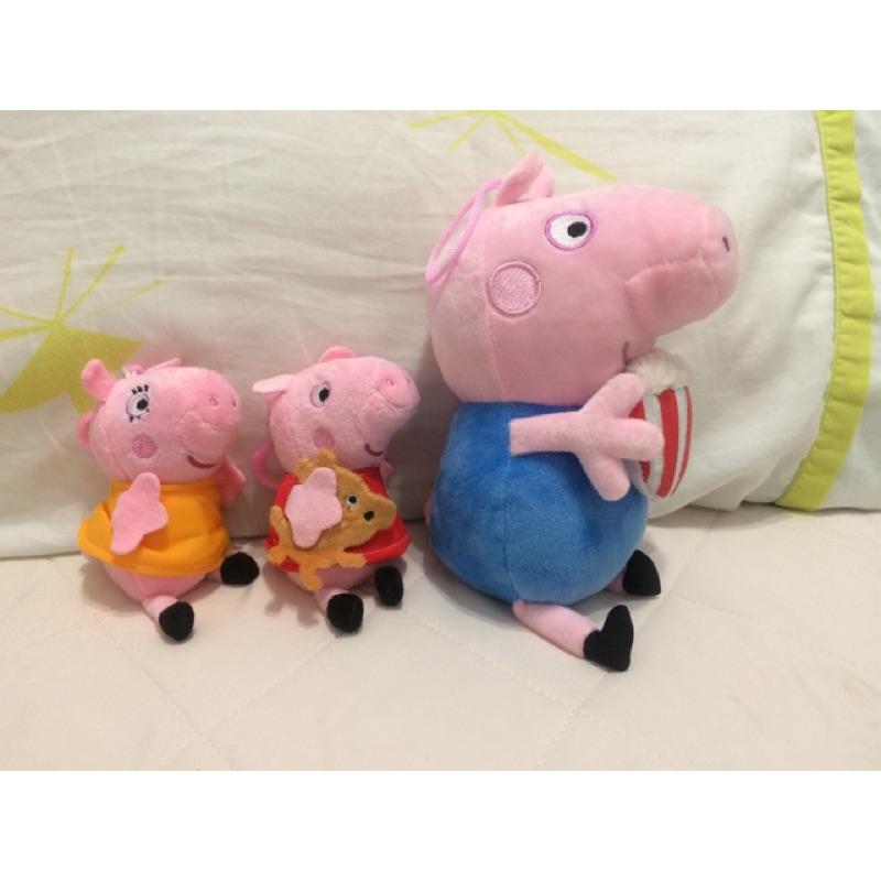3-6吋佩佩豬娃娃