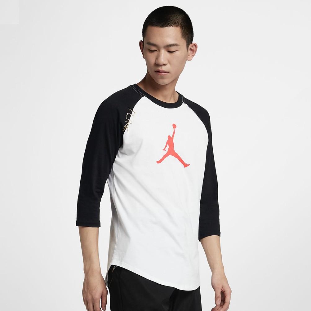 [Friends Sneakers] Nike Jordan CNY 乙亥年 棒球七分袖 CD9053-100