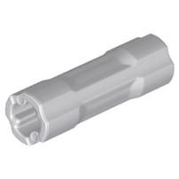 LEGO 樂高零件 科技 十字軸連接 軸套 淺灰10入 Axle Connector 3L 26287 42195