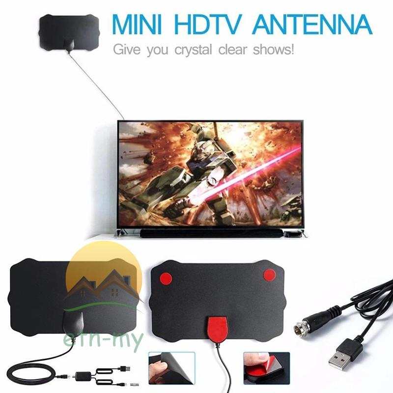 Hdtv 電纜天線 4k 放大高清數字電視天線耐用, 非常適合電視家庭