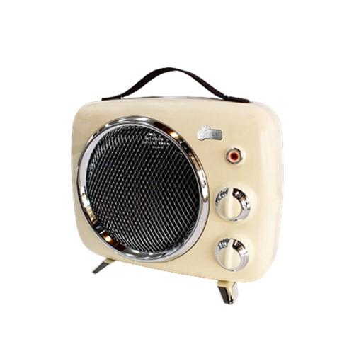 Giaretti吉爾瑞帝 復古暖風電暖器 GL-1822 黑色/白色