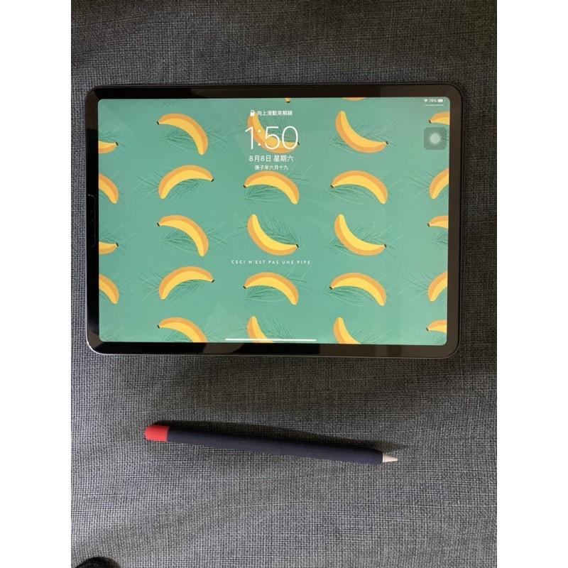 二手2018 iPad Pro 11吋 256GB WiFi版太空灰(沒有附筆