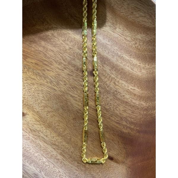 《嘉鼎銀樓》黃金項鍊 六角麻花 1兩2尺(60公分)🔅下標前請先聊聊金價與現貨金重🔅