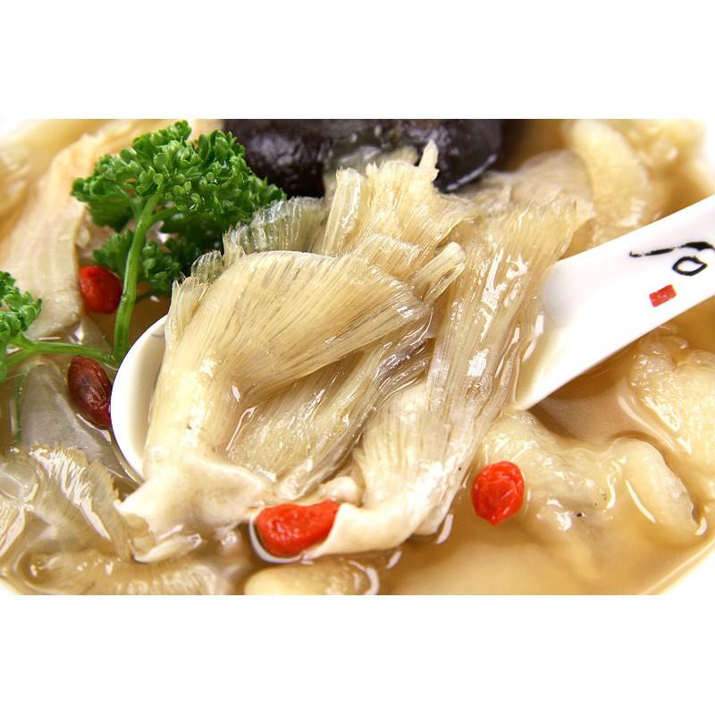 【萬象極品】上湯魚翅盅(中排翅)/約300g 真材實料魚翅和香醇鮮饌羹湯融和出美味清燉魚翅盅 在家也能吃到餐聽好味道
