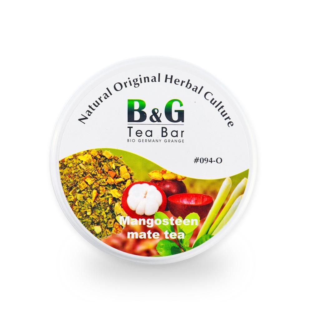 B&G 德國農莊 Tea Bar 輕盈山竹瑪黛茶-圓鐵罐(50克)