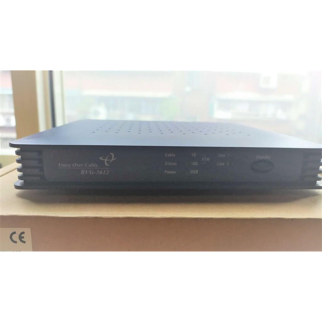 凱擘 Hitron Technologies BVG-3612 cable modem 數據機 語音數據機