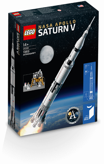 【滿天星辰】LEGO21309樂高92176火箭IDEAS美國宇航局阿波羅土星五號積木玩具