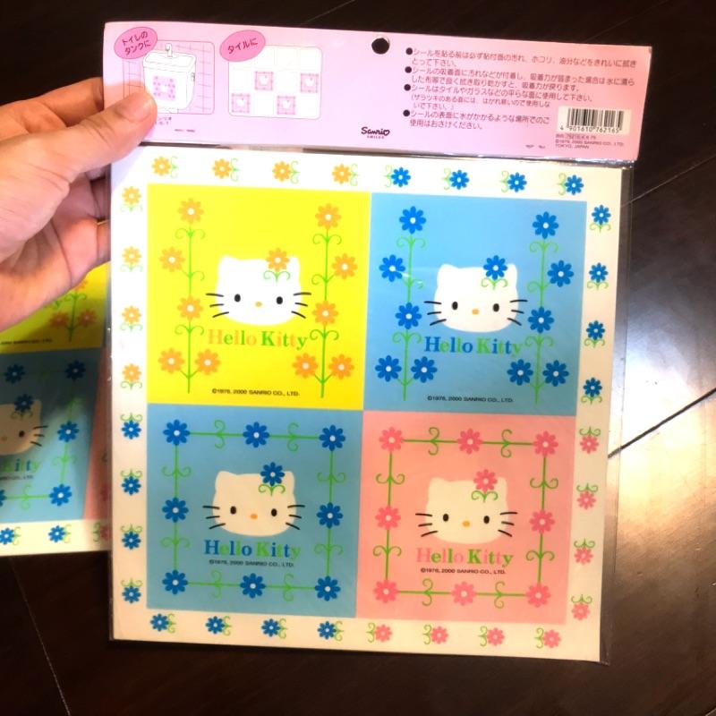 【四九出給】凱蒂貓 Hello Kitty 貼紙 壁貼 瓷磚貼 浴室貼 透明貼 磁磚貼