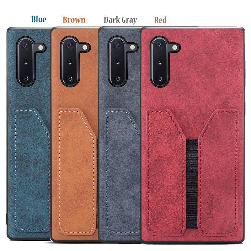 Samsung Note10+ Plus N10+ 牛皮仿真皮 原廠保護殼背蓋背殼手機殼 手機套皮套保護套