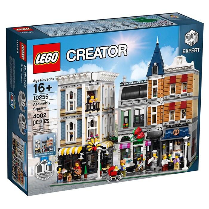 LEGO 樂高 集會廣場#10255, 樹屋#21318