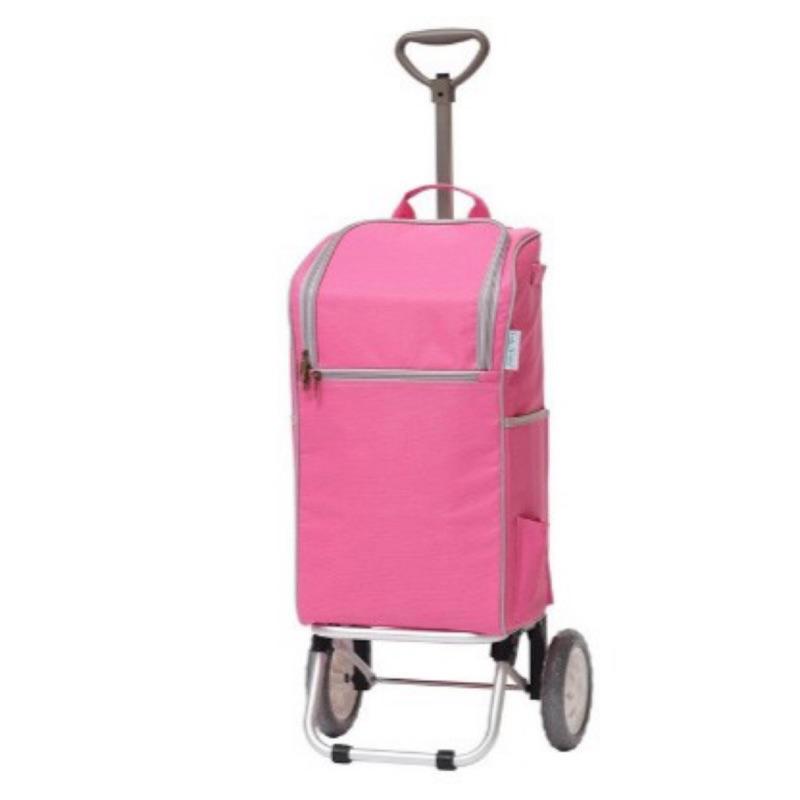 【蝦皮茉兒】宅配免運 🚚 Lady Carro 單輪輕便可摺疊購物車 容量30公升 保溫保冷材質 COSTCO 好市多