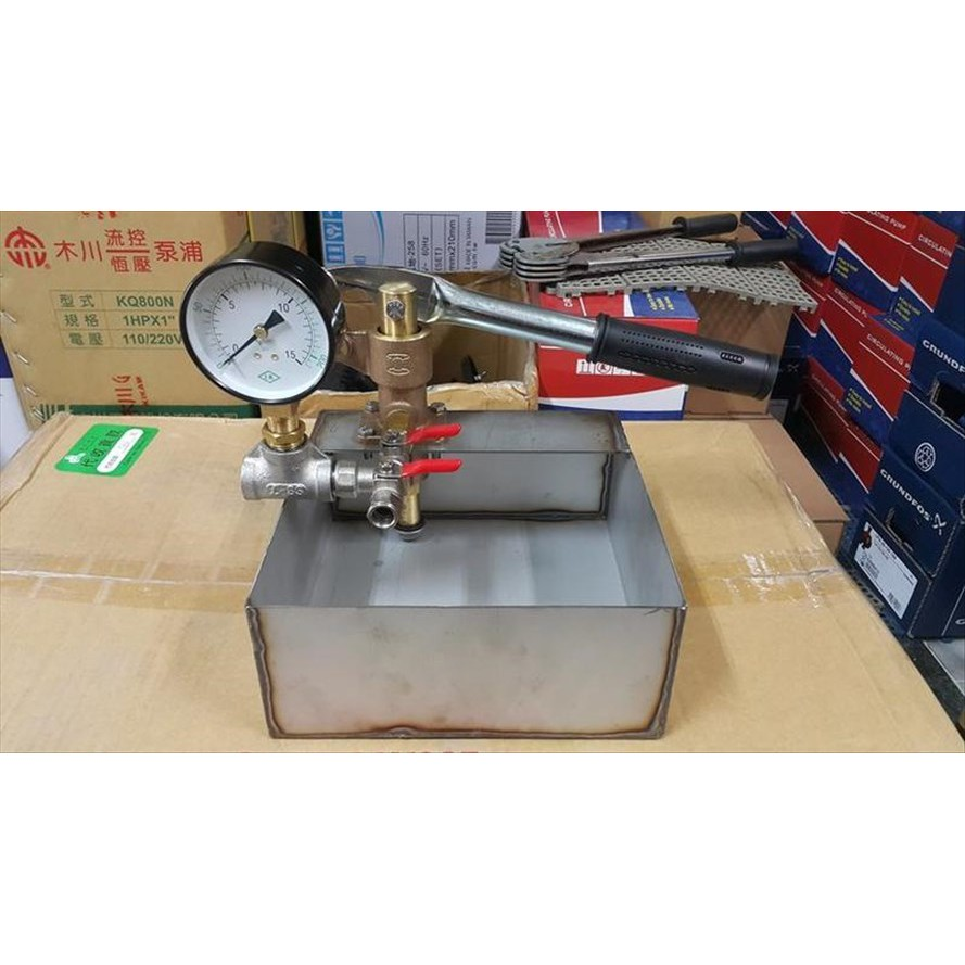 【泵浦五金】手動試壓機~試水壓機~白鐵試壓機~試水壓力~管路試壓抓漏~快速測漏器