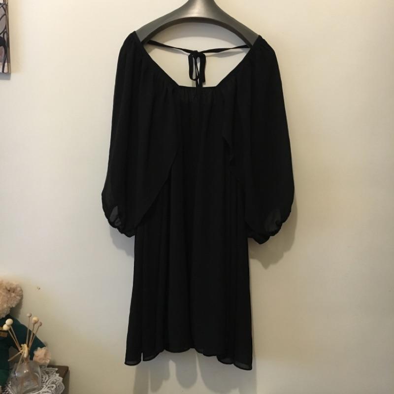 pazzo 黑色氣質洋裝