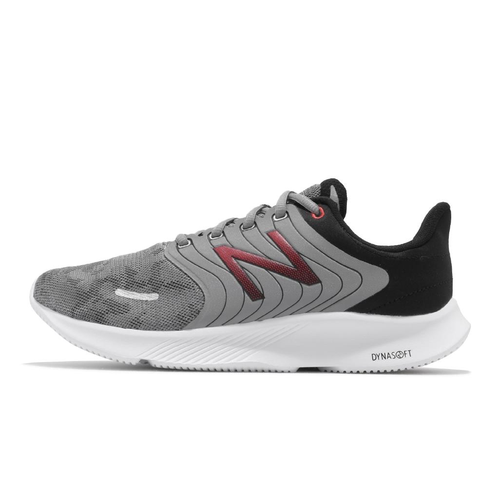 New Balance 068 慢跑鞋 寬楦 灰 紅 黑 NB 紐巴倫 輕量避震 運動鞋 【ACS】 M068LG 2E