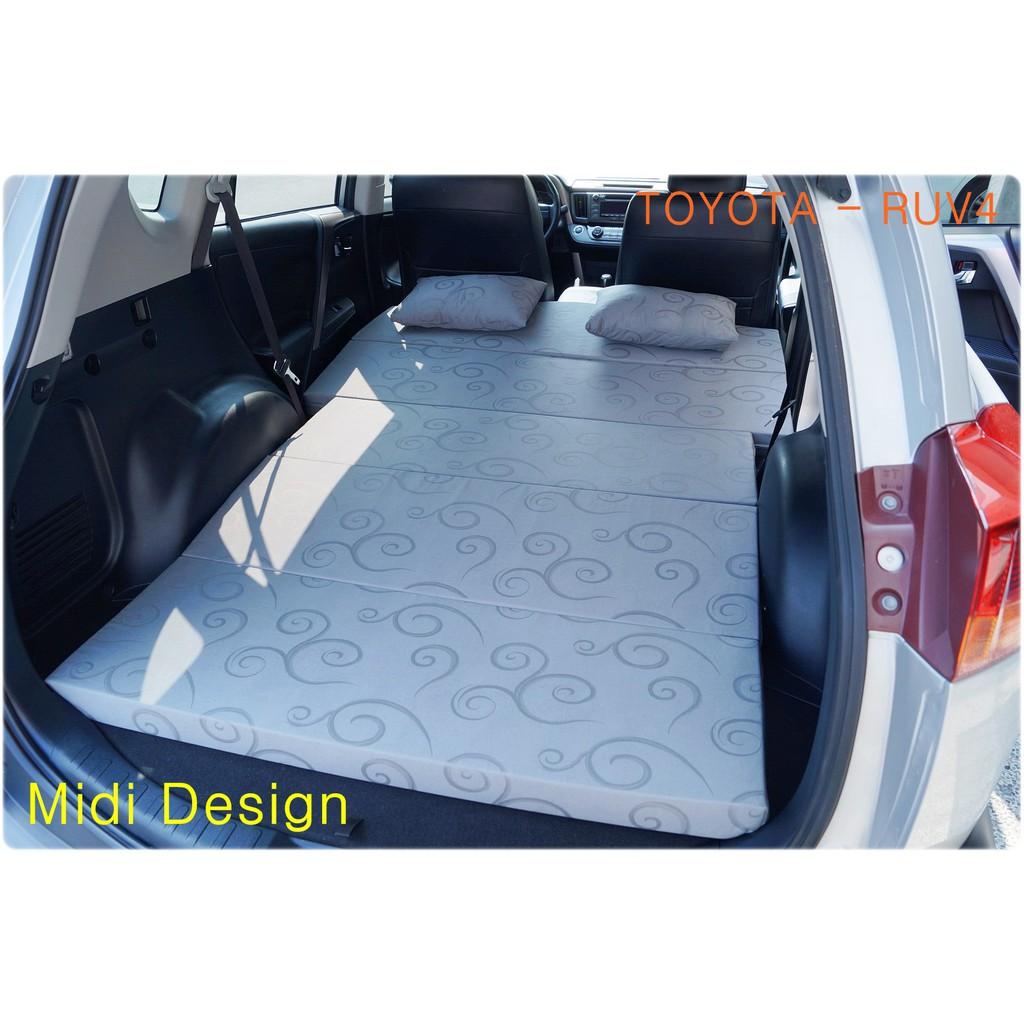 客製化 露營車床 RAV4 車中床 訂做 睡墊 摺疊墊 可收納 各型休旅車 豐田 可訂製 車中床 車床組 帳篷 睡袋