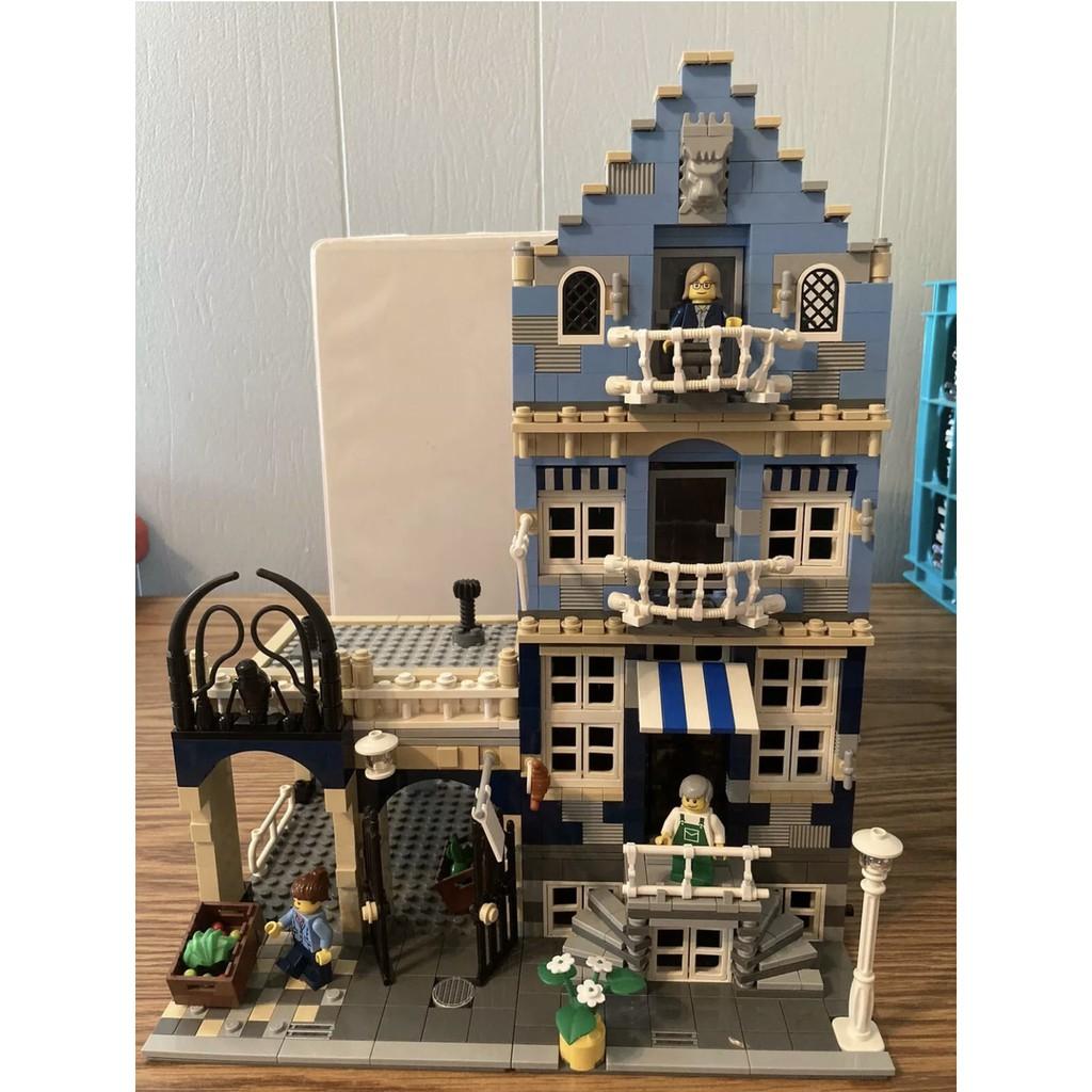 樂高 LEGO 10190 Market Street 歐洲市場 近全新 二手 已組 街景三兄弟 10185 10278