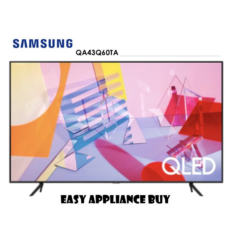 【私訊優惠】2020新機上市SAMSUNG 43吋 4K QLED智慧電視 UA43Q60TAWXZW /43Q60T