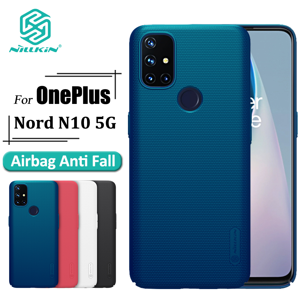 Nillkin 豪華手機殼, 適用於 Oneplus Nord N10 5g 硬 Pc 防震超級磨砂屏蔽