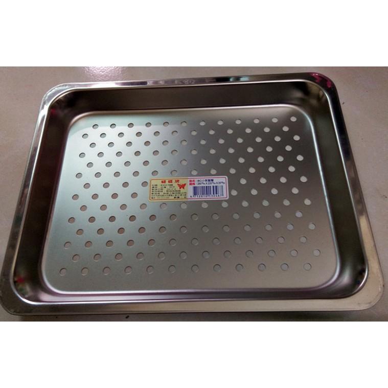 285*220*25MM 304不鏽鋼小茶盤/304小茶池/304304瀝水盤 BC小茶盤層