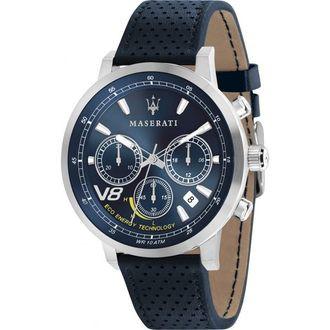 MASERATI WATCH 瑪莎拉蒂手錶 R8871134002 GT藍面光動能三眼計時  原廠正貨