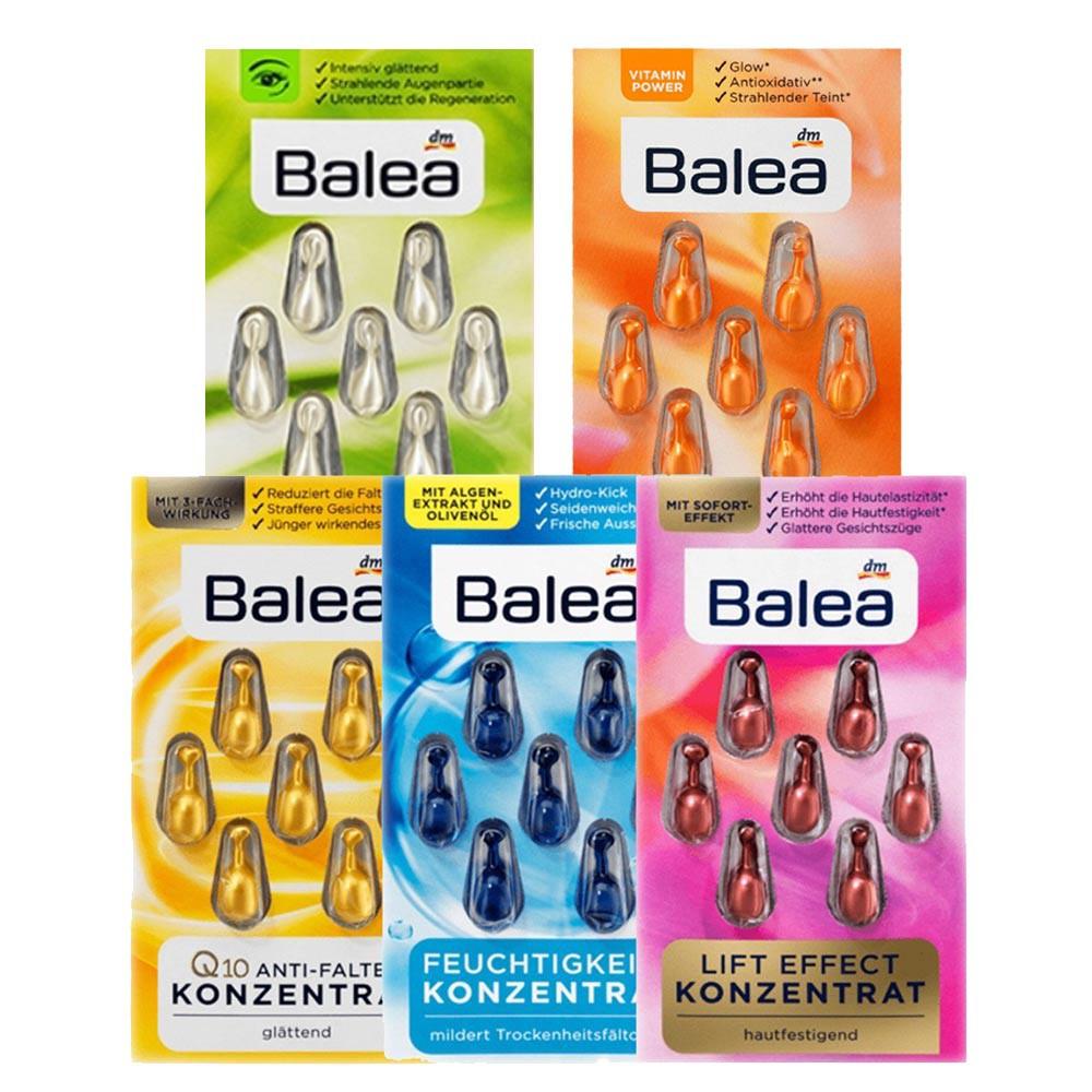 Balea精華膠囊7顆(5款)