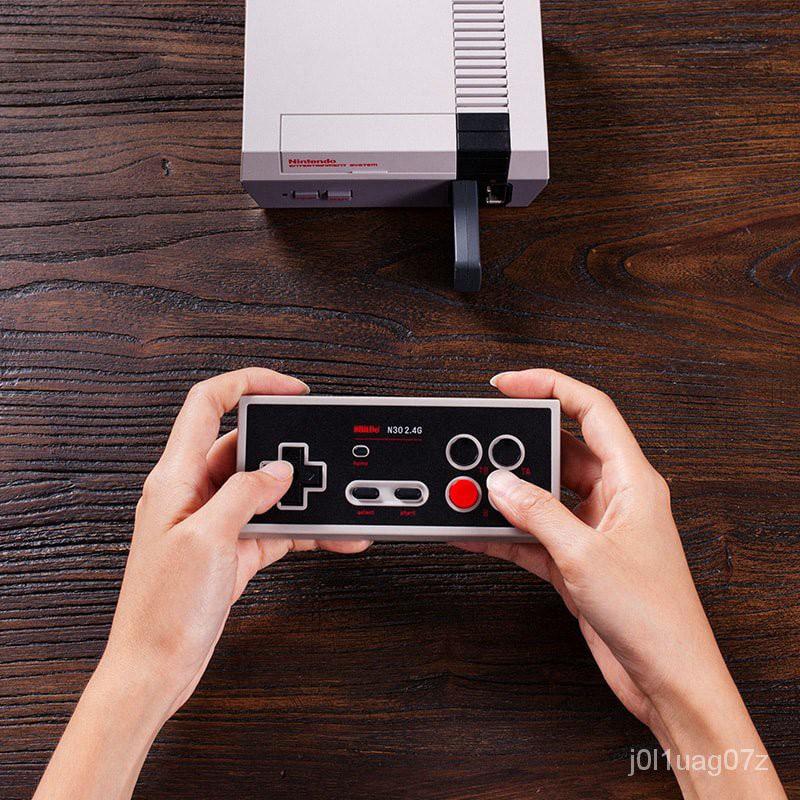🎇遊戲手柄 8Bitdo八位堂N30 2.4G經典無線手柄 NES迷你遊戲機即插即用可連發