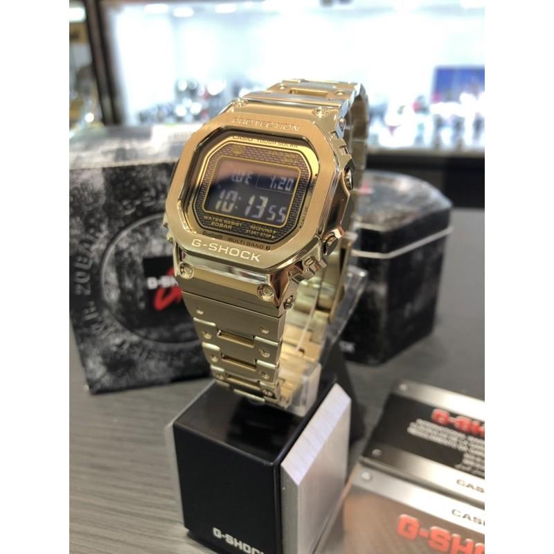 Casio 卡西歐 限量 G-SHOCK GMW-B5000GD-9 金色  GMW B5000