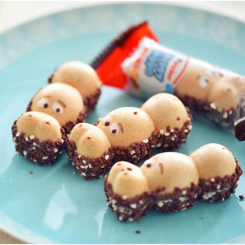 [FIBO零食系列]德國、香港進口限量Kinder Happy Hippo健達河馬巧克力開心河馬巧克力網紅零食伴手禮