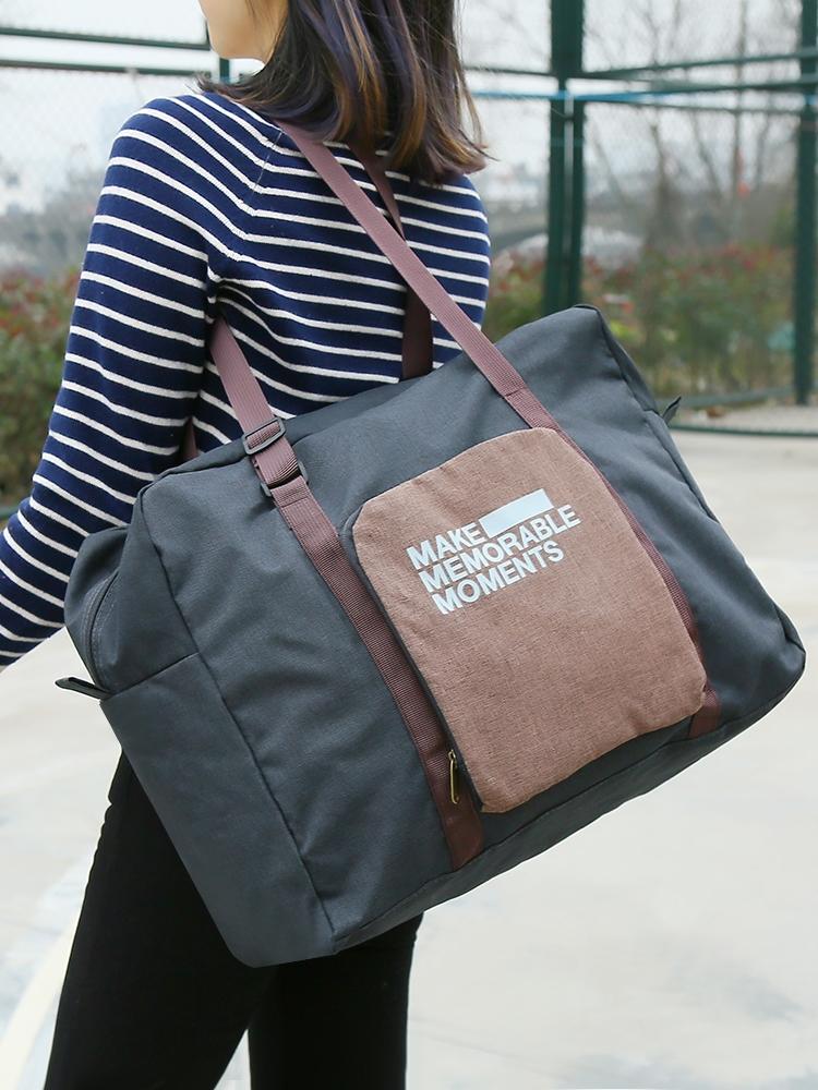 旅行袋女手提收納袋短途旅行商務旅行手提大容量可折疊旅行袋套拉桿箱行李箱旅行箱