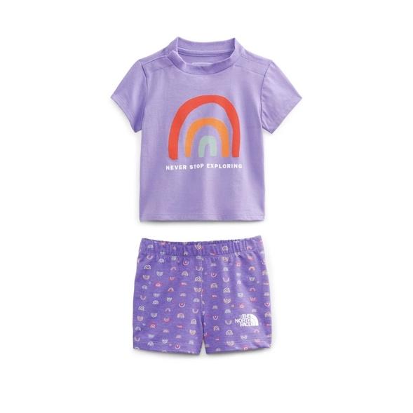 The North Face 嬰兒短袖套裝 (24個月個月)正貨