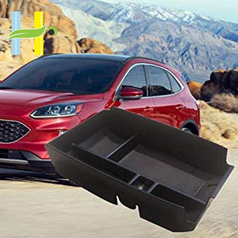 【現貨】汽車中央扶手儲物盒輔助儲物中心控制台管理器適用於兼容Ford Escape 2020