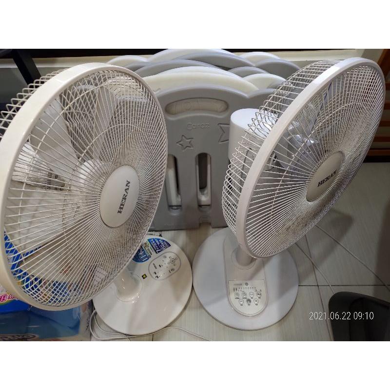 二手 【HERAN 禾聯】★質感新設計-日本品牌馬達 14吋智慧觸控變頻7葉片DC扇