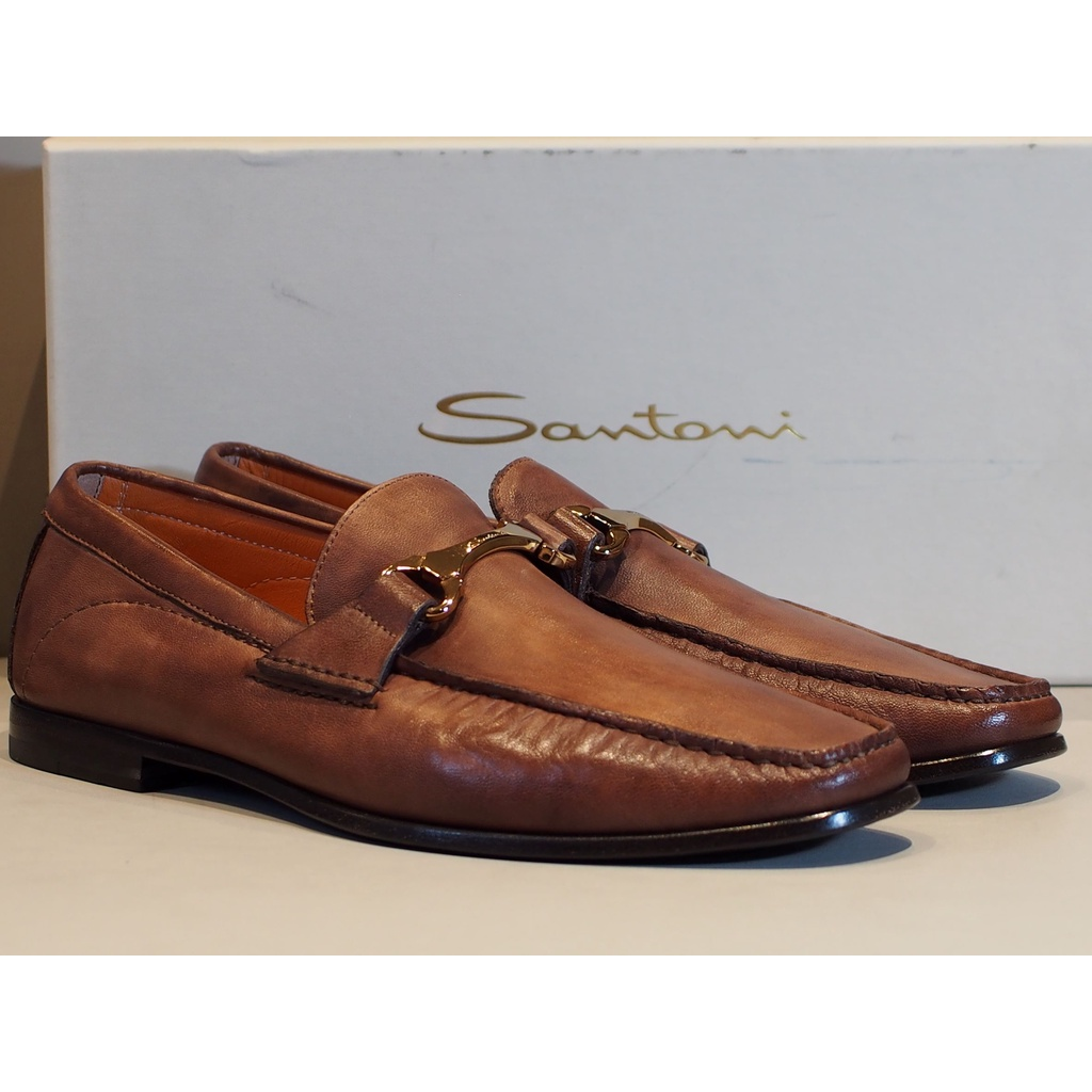 Santoni聖東尼男樂福鞋