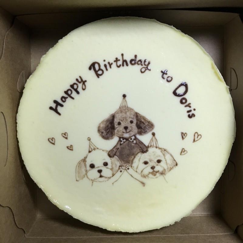 作夢吧蛋糕(毛孩子)重乳酪蛋糕 生日蛋糕 寵物