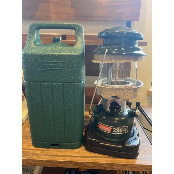 YOBUYOBU日貨選物代購 |現貨 露營 Coleman 286A 汽化燈 含收納盒 日本出貨