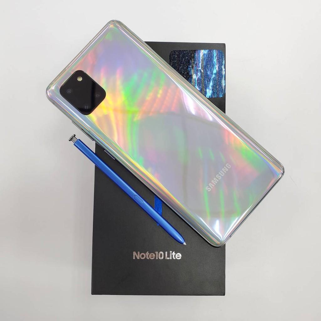 Samsung Note 10 Lite 8G / 128G (保固至2021.04.30) 極新無傷
