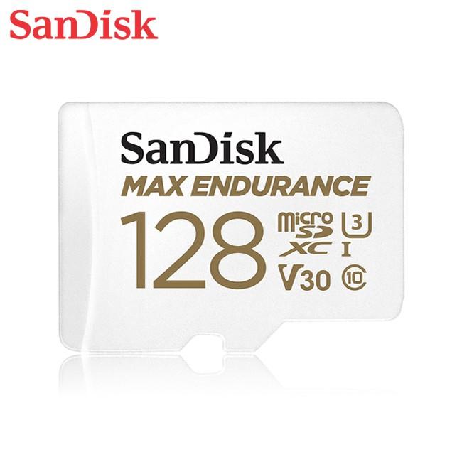 SanDisk MAX ENDURANCE 32G 64G 128G microSD V30 U3 4K 極致耐寫記憶卡