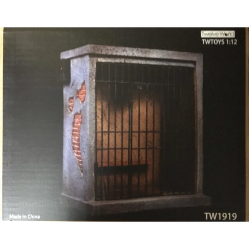 TWTOYS 1:12 (現貨) 監獄場景  燈可亮、門可開 可搭配6吋人偶
