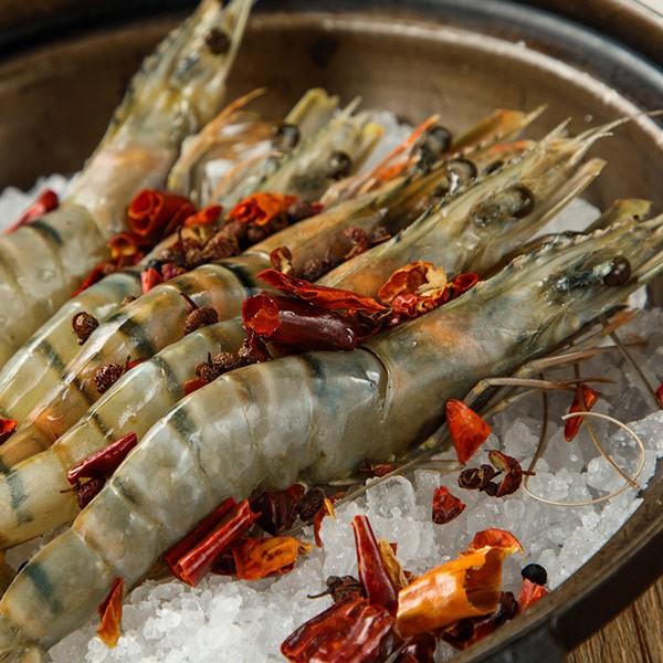 【山海珍饈】嚴選新鮮急凍海草蝦12盒
