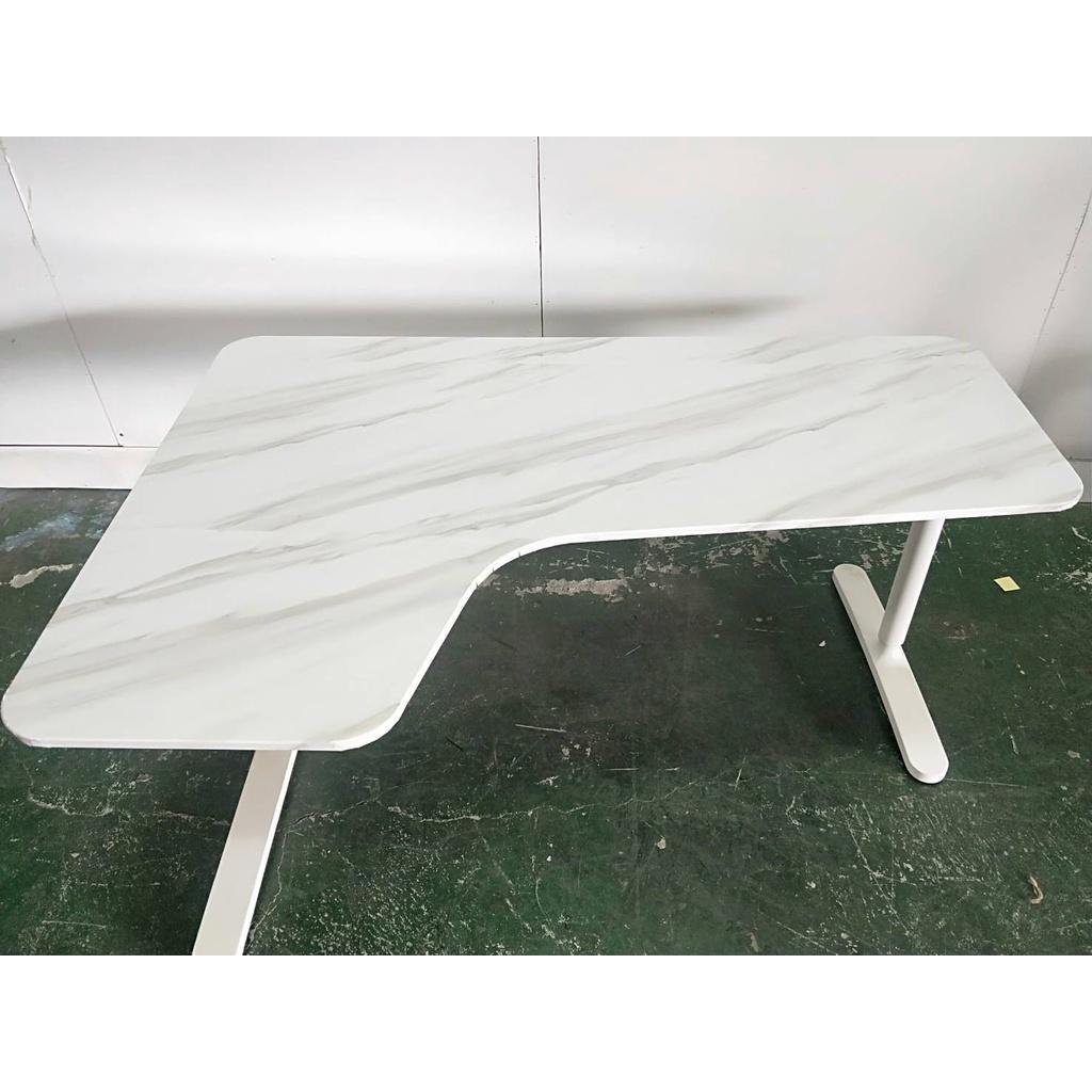 二手家具全省估價(大台北冠均 新五店)二手貨中心--IKEA 手動升降式工作桌 辦公桌 電腦桌 L桌 D-0081602