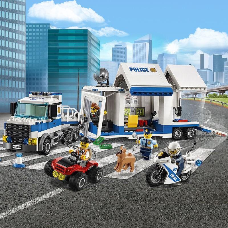 兼容樂高城市系列拼裝積木益智樂高警察局消防總局飛機玩具男孩子