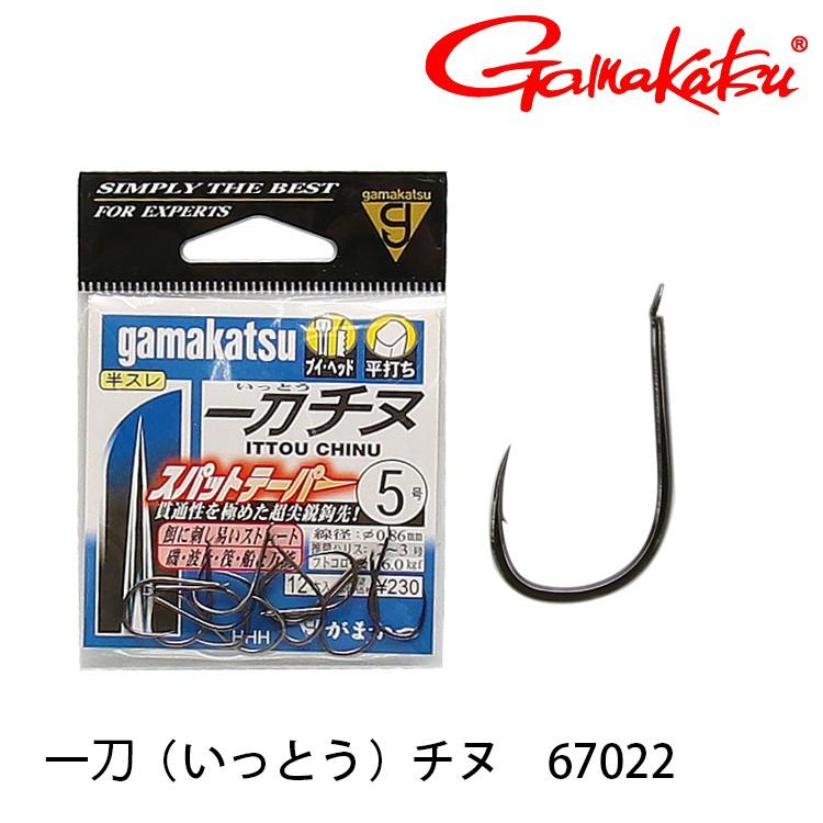 GAMAKATSU 一刀チヌ[NS] [漁拓釣具] [黑鯛鉤]