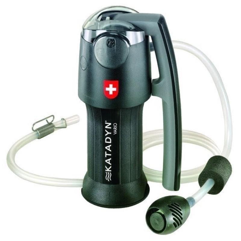 (山小孩)預訂款,瑞士Katadyn Vario~攜帶型變速式濾水器(黑金鋼)