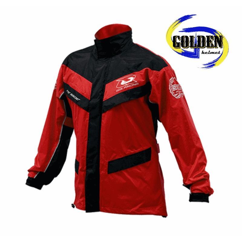 【GD佳德】兩件式雨衣 SOL SR-2 運動夾克型雨衣 紅