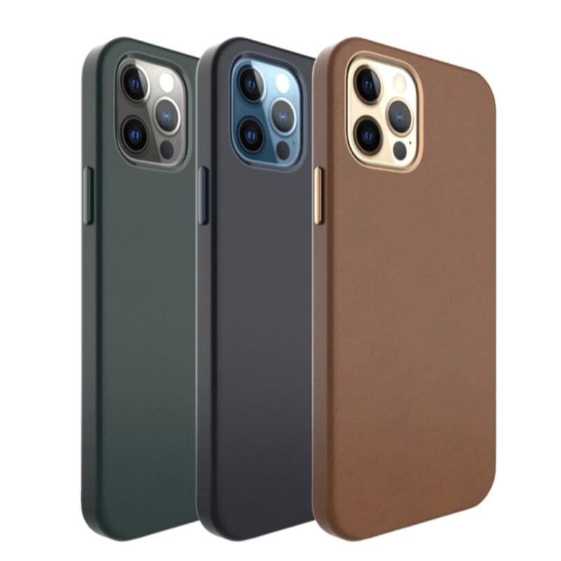 [現貨] UNIU  iPhone 12 系列 CUERO 全包皮革殼