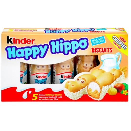 『少年白』Kinder Happy Hippo 健達繽紛樂 河馬白巧克力