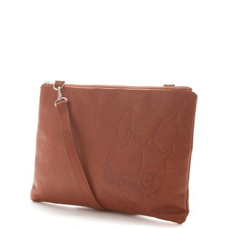 CRYSTAL BALL狗頭包 ( Leather 2way clutch bag手拿肩背兩用包 ) 新北市