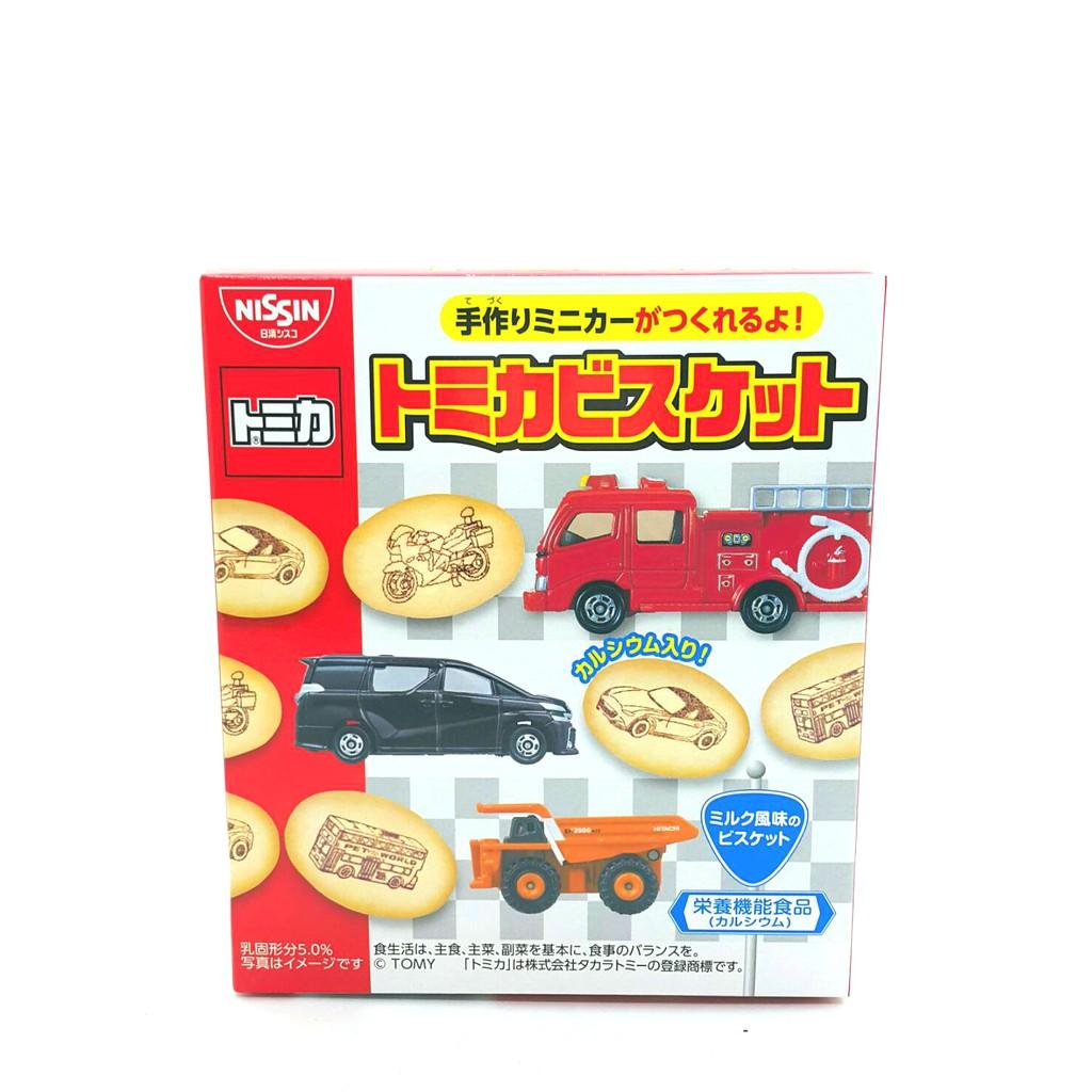 日清 TOMICA 汽車餅乾