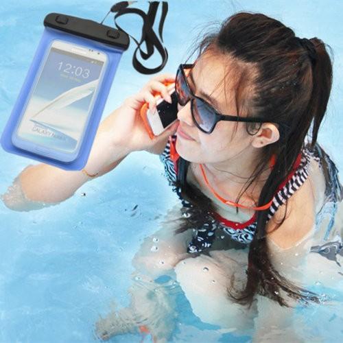 【現貨】多功能手機防水袋 5.5吋 20x10.7cm iPhone 6 Plus 手機袋 手機套